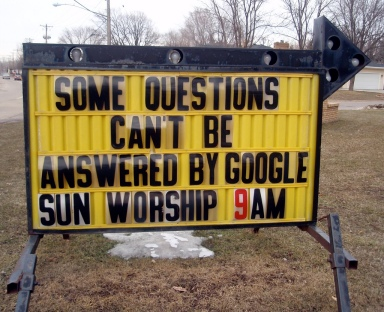 Some Questions Can't Be Answered By Google