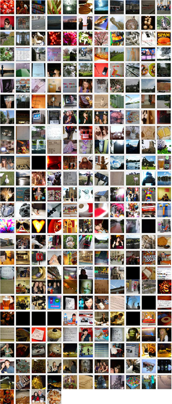 All the pictures from Project 365 in 2008
