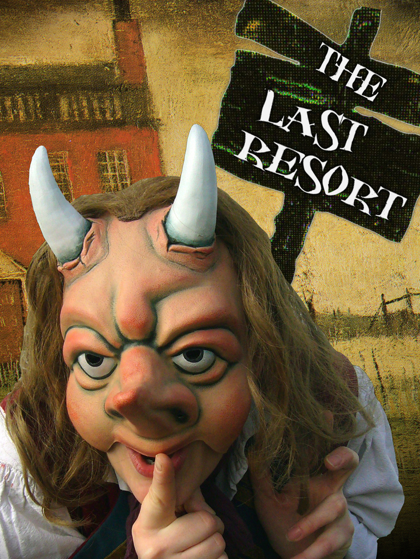"The Last Resort is a, ""Satire of attitudes, moral decline and an offer you can't refuse,"" according to Russell Dean."