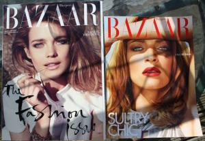 The Fashion Issue, Harper's Bazaar supersize edition, September 2009