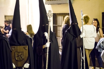 The black robes can also be quite a disarming sight.