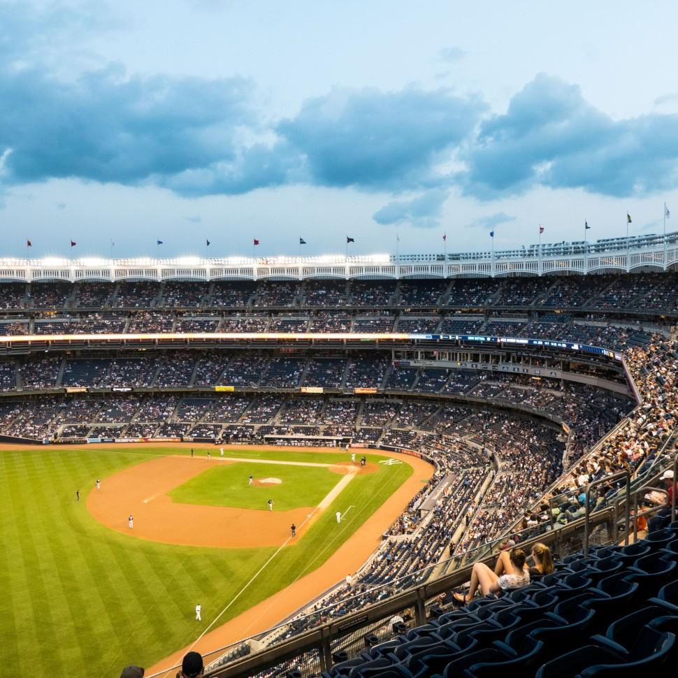Friday night at Yankee Stadium
