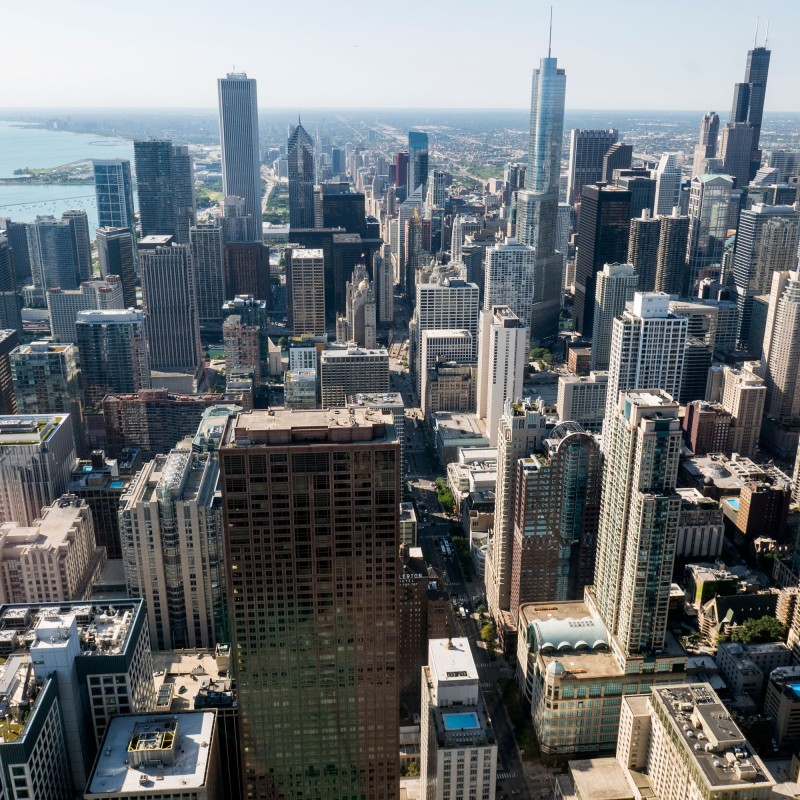View from Chicago360