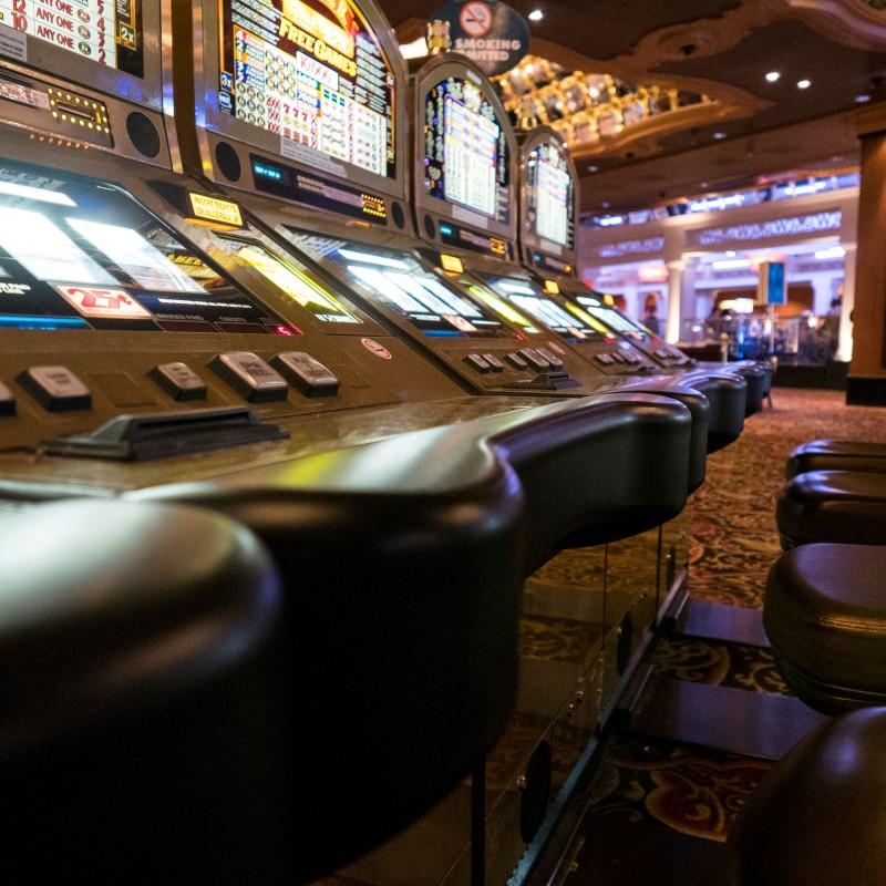Gambling the night away